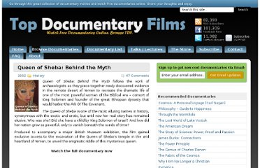 http://topdocumentaryfilms.com/queen-of-sheba-behind-the-myth/