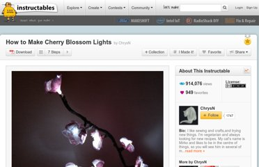 http://www.instructables.com/id/How-to-Make-Cherry-Blossom-Lights/
