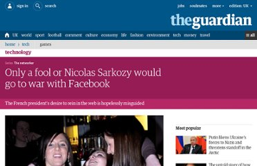 http://www.guardian.co.uk/technology/2011/may/29/children-social-networking-sarkozy