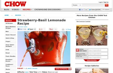 http://www.chow.com/recipes/28510-strawberry-basil-lemonade