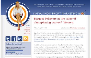 http://www.nonprofitmarketingblog.com/site/biggest_believers_in_the_value_of_championing_causes_women/#When:07:36:14Z