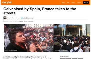 http://storyful.com/stories/1000003889-galvanised-by-spain-france-takes-to-the-streets