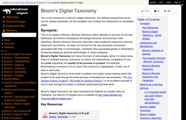 http://edorigami.wikispaces.com/Bloom's+Digital+Taxonomy