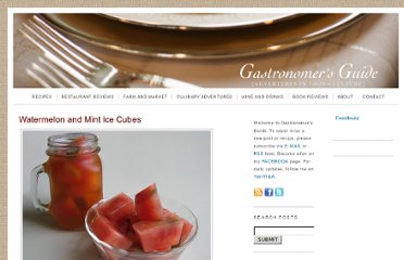 http://www.gastronomersguide.com/2008/08/watermelon-and-mint-ice-cubes.html