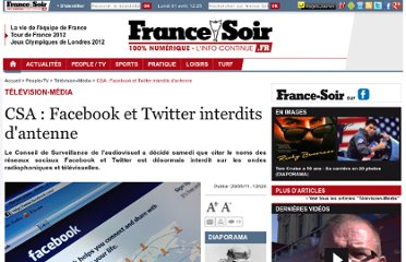 http://www.francesoir.fr/people-tv/television-media/csa-facebook-et-twitter-interdits-d-antenne-105711.html