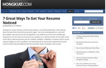 http://www.hongkiat.com/blog/ways-to-get-your-resume-noticed/
