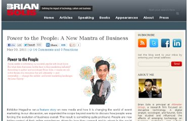 http://www.briansolis.com/2011/05/power-to-the-people-a-new-mantra-of-business/