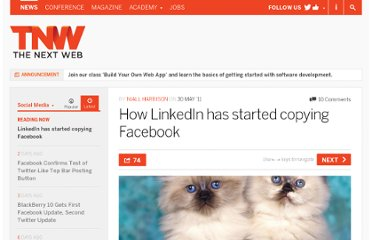 http://thenextweb.com/socialmedia/2011/05/30/how-linkedin-has-started-copying-facebook/