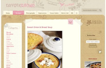 http://www.kayotic.nl/blog/sweet-onion-bread-soup