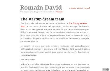 http://www.romaindavid.fr/2011/05/31/the-startup-dream-team/