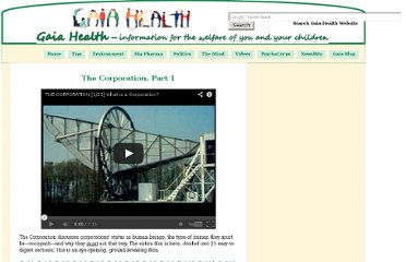 http://www.gaia-health.com/videos/V000015-Corporation01.shtml