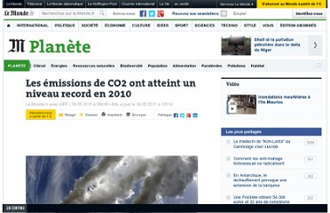 http://www.lemonde.fr/planete/article/2011/05/30/les-emissions-de-co2-a-leur-plus-haut_1529142_3244.html
