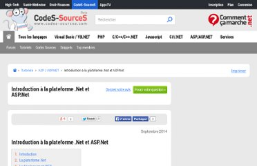 http://www.aspfr.com/tutoriaux/INTRODUCTION-PLATEFORME-NET-ASP-NET_1045.aspx