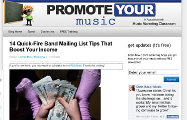 http://www.promoteyourmusic.net/email-music-marketing/band-mailing-list