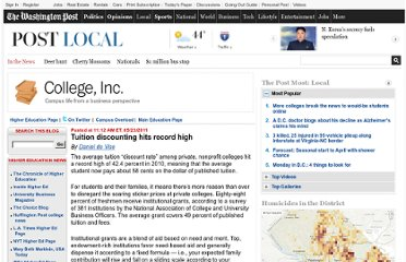 http://www.washingtonpost.com/blogs/college-inc/post/tuition-discounting-hits-record-high/2011/05/23/AFtIGm9G_blog.html#pagebreak