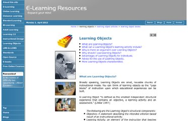 http://www.grayharriman.com/learning_objects.htm#top
