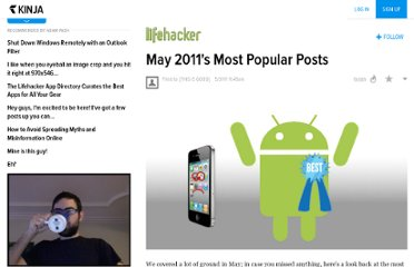 http://lifehacker.com/5806990/may-2011s-most-popular-posts