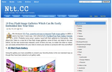 http://ntt.cc/2011/05/11/18-free-flash-image-galleries-which-can-be-easily-embedded-into-your-sites.html