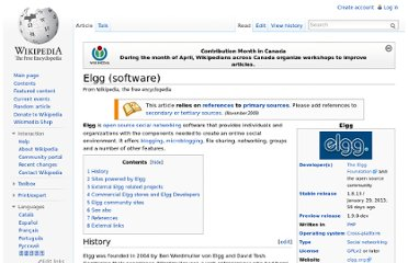http://en.wikipedia.org/wiki/Elgg_(software)
