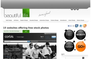 http://www.beautifullife.info/web-design/15-websites-offering-free-stock-photos/