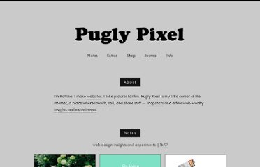 http://www.puglypixel.com/category/freebies/