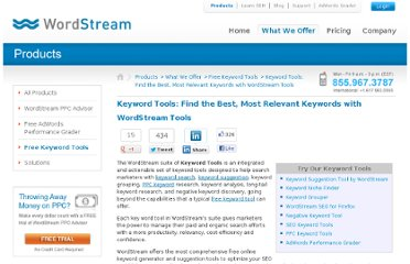 http://www.wordstream.com/keyword-tools