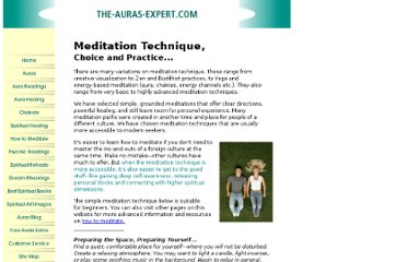 http://www.the-auras-expert.com/meditation-technique.html