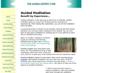 http://www.the-auras-expert.com/guided-meditation.html