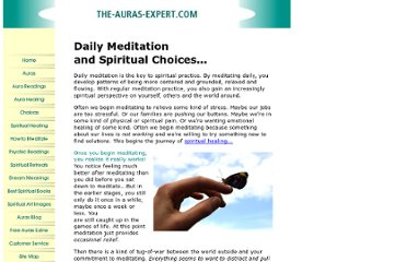 http://www.the-auras-expert.com/daily-meditation.html