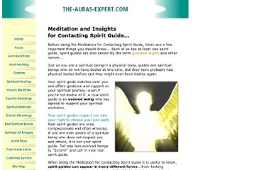 http://www.the-auras-expert.com/contacting-spirit-guide.html