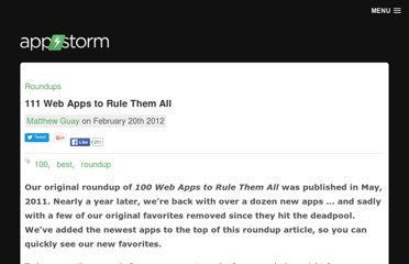 http://web.appstorm.net/roundups/100-web-apps-to-rule-them-all/