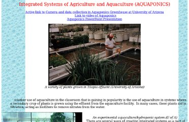 http://ag.arizona.edu/azaqua/extension/Classroom/Aquaponics.htm