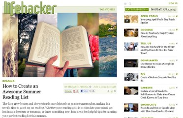 http://lifehacker.com/5807774/how-to-create-an-awesome-summer-reading-list