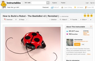 http://www.instructables.com/id/How-to-Build-a-Robot-The-BeetleBot-v2-Revisite/