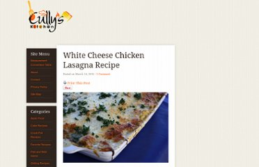 http://cullyskitchen.com/white-cheese-chicken-lasagna-recipe/