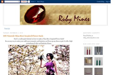 http://rubymines.blogspot.com/2010/11/diy-tutorial-nina-ricci-inspired-flower.html