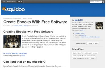 http://www.squidoo.com/creating-ebook-with-free-software