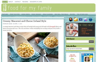 http://foodformyfamily.com/recipes/creamy-macaroni-and-cheese-ireland-style