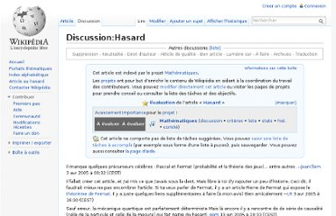 http://fr.wikipedia.org/wiki/Discussion:Hasard
