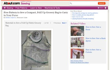 http://sewing.about.com/od/bagstotespurseproject/ss/Free-Pattern-To-Sew-A-Compact-Fold-Up-Grocery-Bag-To-Cary-In-Your-Purse.htm