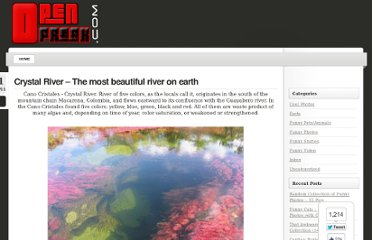 http://www.openfreak.com/crystal-river-the-most-beautiful-river-on-earth/