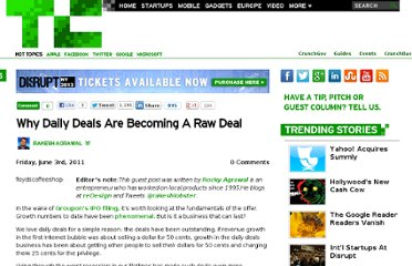 http://techcrunch.com/2011/06/03/why-daily-deals-raw-deal/