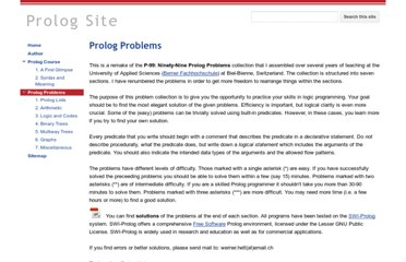 https://sites.google.com/site/prologsite/prolog-problems
