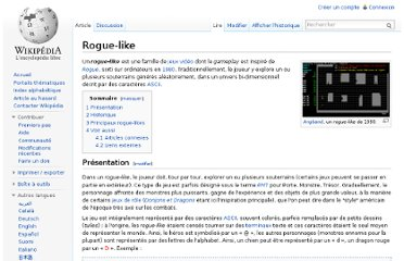 http://fr.wikipedia.org/wiki/Rogue-like