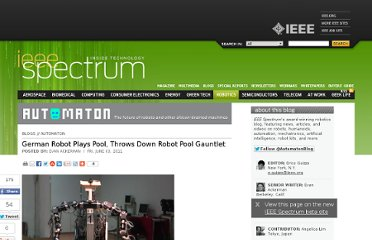 http://spectrum.ieee.org/automaton/robotics/humanoids/german-robot-plays-pool-throws-down-robot-pool-gauntlet