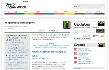 http://searchenginewatch.com/article/2048513/Shopping-Search-Engines