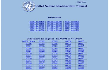http://untreaty.un.org/unat/Judgements_English_By_Number.htm