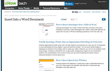 http://www.ehow.com/insert-into-a-word-document/