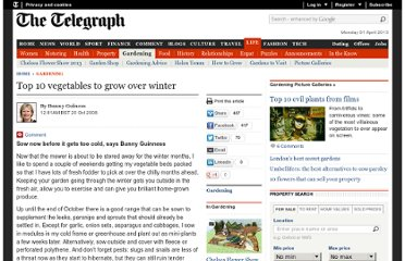 http://www.telegraph.co.uk/gardening/3350629/Top-10-vegetables-to-grow-over-winter.html