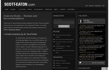 http://www.scott-eaton.com/anatomy-book-reviews-and-recommendations